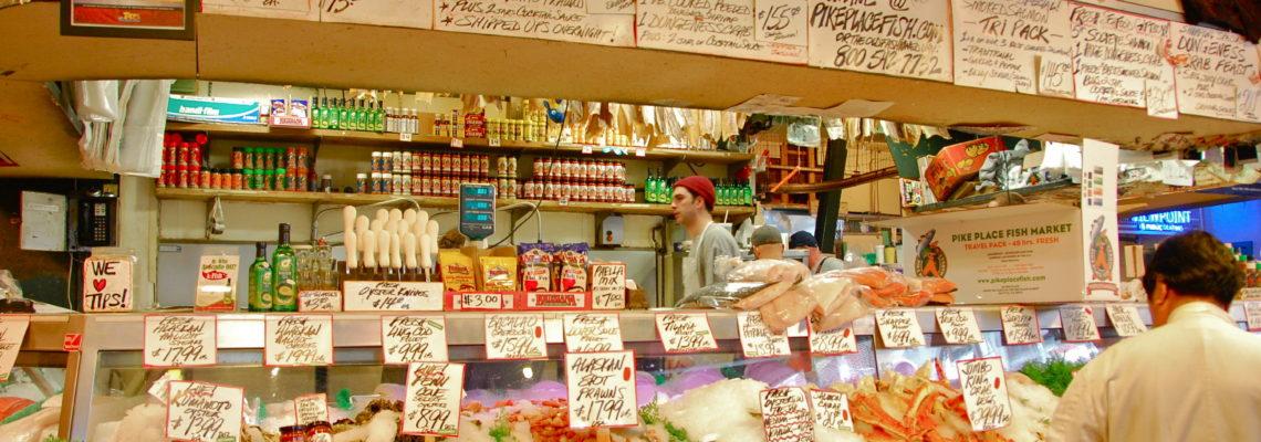 Pike Place Fish Market, Fresh Sea Food